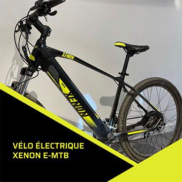 vélo électrique Xenon e-mtb vendeur Marseille magasin full watt